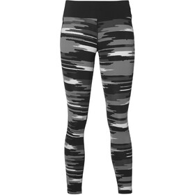 asics fuzeX - Pantalones cortos running Mujer - gris/negro